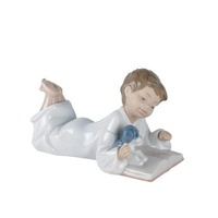 Nao  Porcelain Figurine - ' Repeat After Me'- 02001285