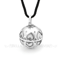 Small Hearts Harmony Ball Pendant