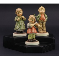 Hummel Collector's Club Figurine set - Keeping Time, Steadfast Soprano and First Violin