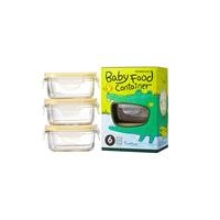 Baby Food 150ml 3 Piece Container Set
