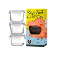 Baby Food Container Set