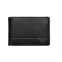 Black RFID Protected Leather Wallet Design 3798