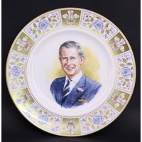 Celebrating Prince Charles 60th Birthday Plate PN356
