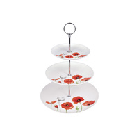 Poppies AWM 3 Tier Cake Stand
