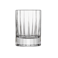 Italian 'Bach' Collection Set of 4 Stemless 70ml Liqueur/ Shot Glasses