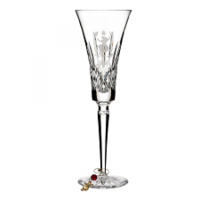 12 Days of Christmas 'Nine Ladies Dancing' Champagne Flutes