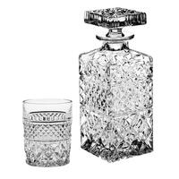 Madison Decanter with set of 2 Double Old Fashioned Tumblers