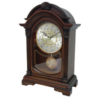 Chiming Mantle Clock Antique Walnut CL05J-3000