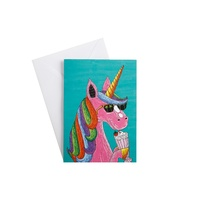 Mulga The Artist Greeting Cards