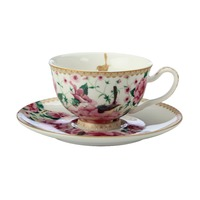 Teas & C's Silk Road 200ml Footed Cup & Saucers