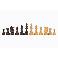 French lardy, Boxwood/Sheesham 85mm Chess Pieces