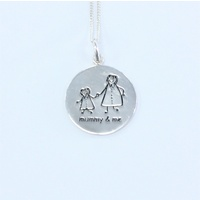 'Mummy and Me' Pendant