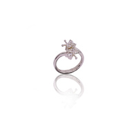 Butterfly Cubic Zirconia Dress Ring