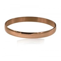 Ion Plate Rose Gold Bangle