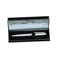 Polished Silver Stationary Pen