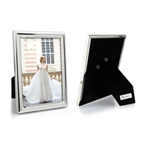 "Silver-plated 'Eton' 18 x 13cm (7"" x 5"") Photo Frame"