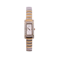 Ladies 'Flaire' Two Tone Rose Gold Plate Stainless Steel Case and Band Analogue Dress Watch - WT65R1NB